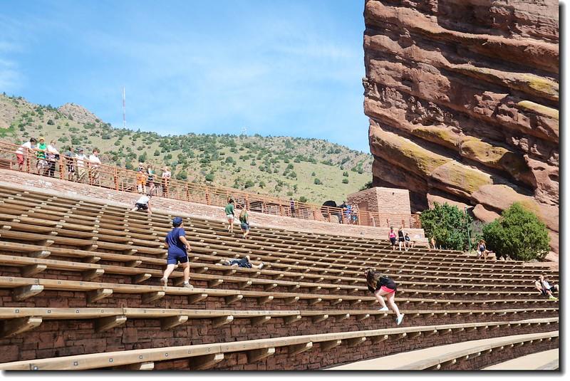 Creation Rock & Terraces(seats) of Amphitheatre 2