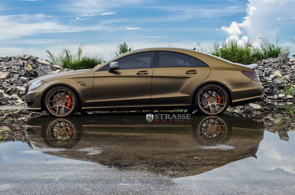Renntech Cls63 Matte Bronze Photoshoot Mbworld Org Forums
