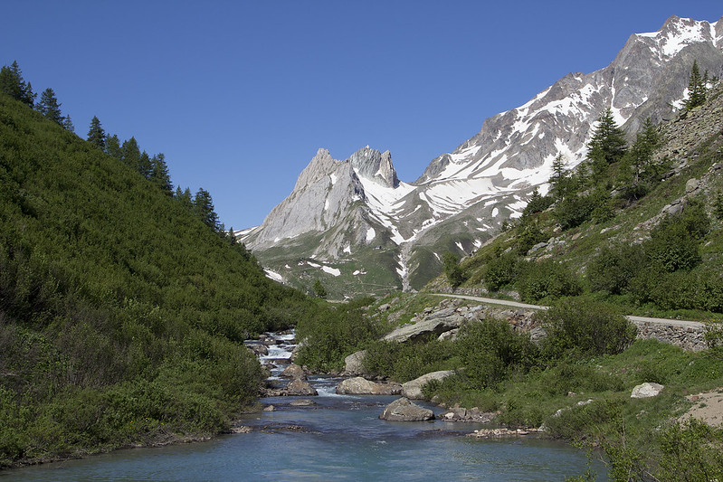 Upeita maisemia Tour du Mont Blanc vaelluksella