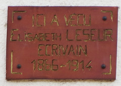 Photo of Red plaque № 31424