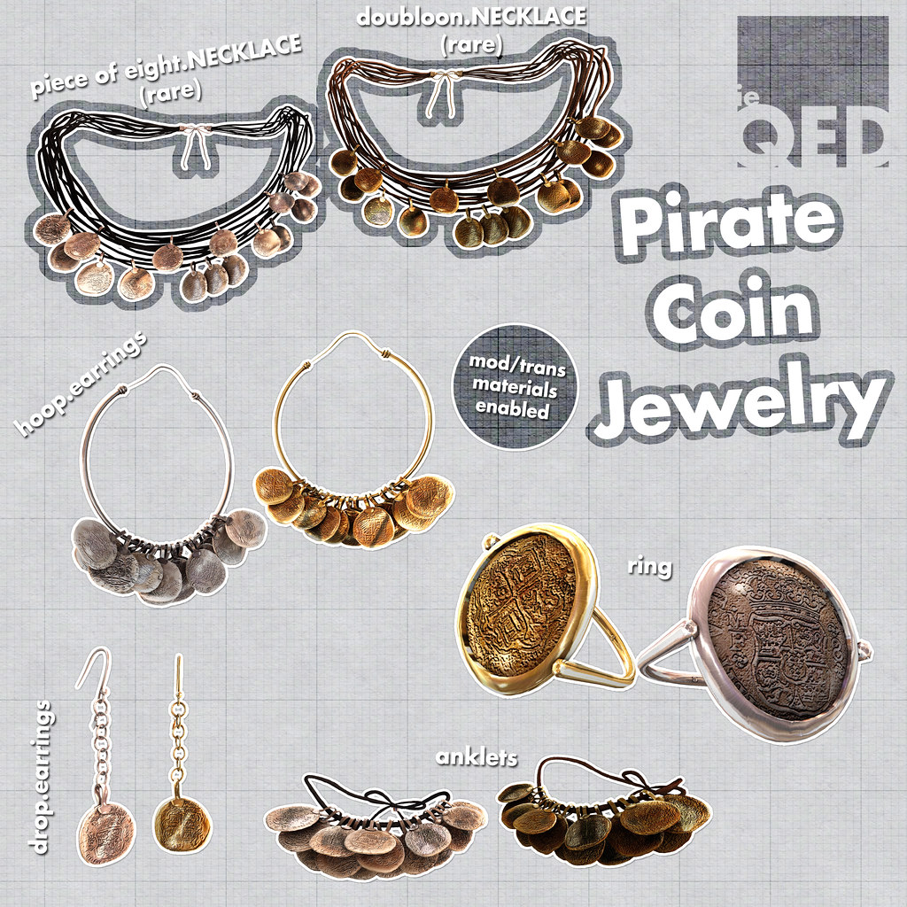 ieQED Pirate Coin Gacha KEY | Available at Fantasy Gacha Car