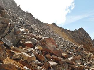 Ridge Between Wilson and Gladstone Peak