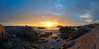 Asilomar Sunset Panorama