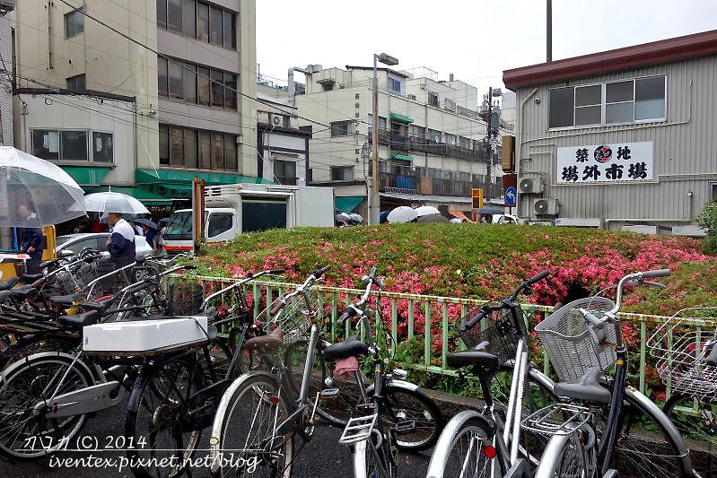 25日本東京築地市場