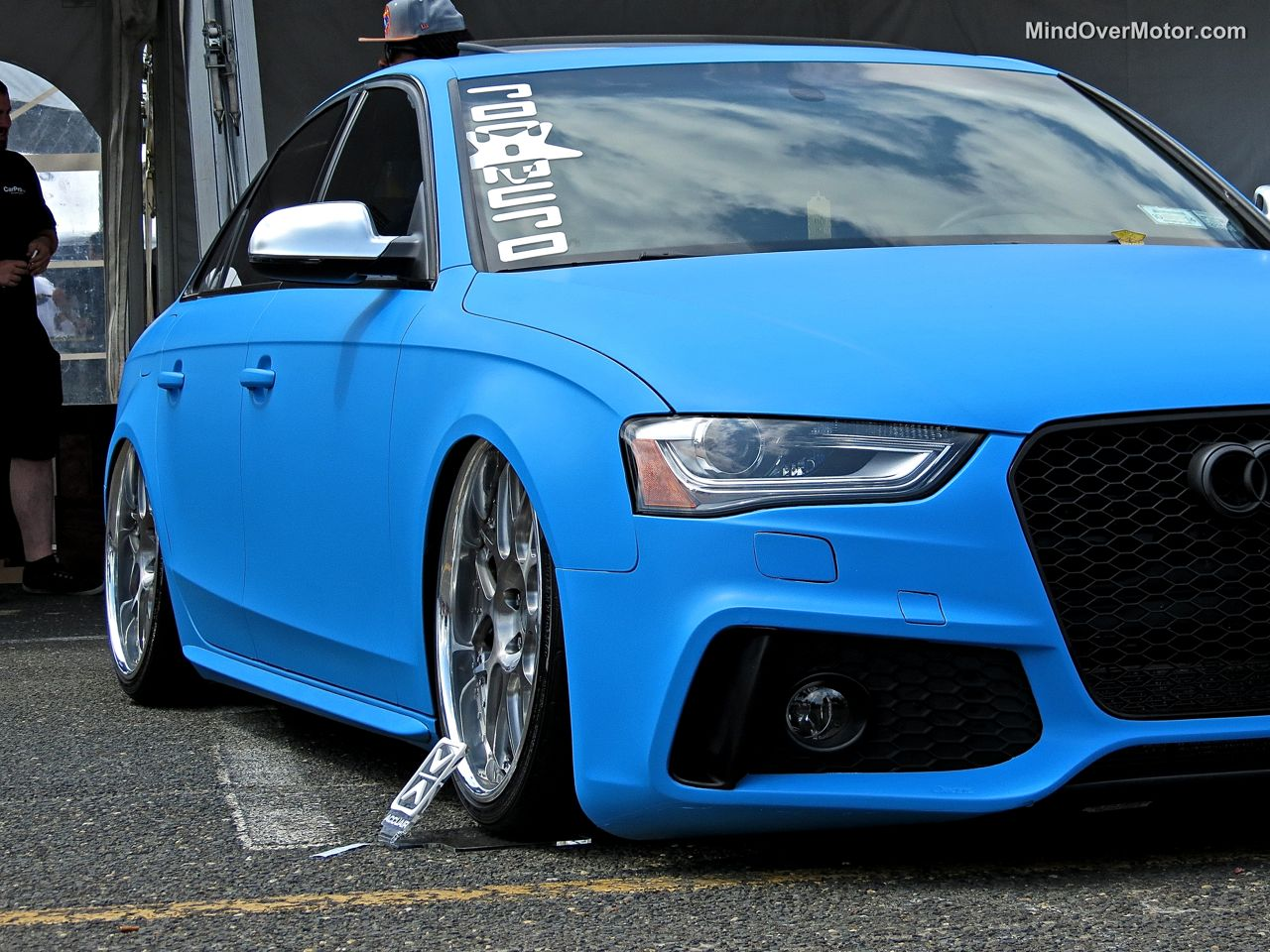 Waterfest 20 Audi A4 in Matte Blue