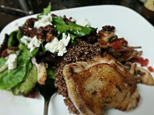 chicken and quinoa