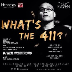 8/14 - Heading back to the homeland - DJNA at Raven in Manila P.I.