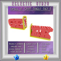 Eclectic Stars - Spell it Out set 1