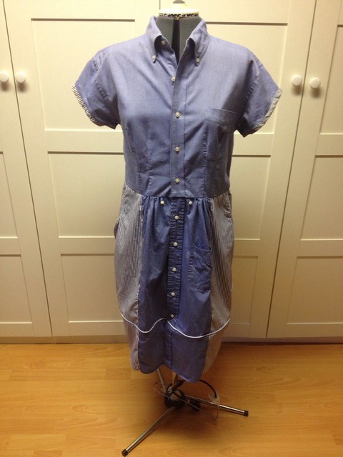 Shirt-shirtdress front