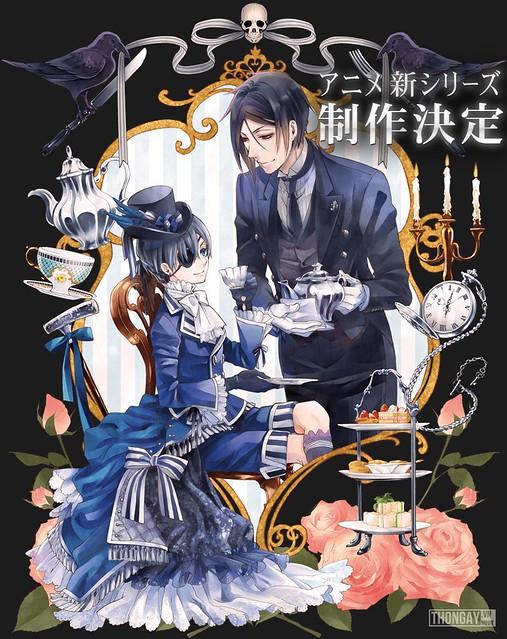 Phim Hắc Quản Gia: Phần 3 - Kuroshitsuji: Book Of Circus