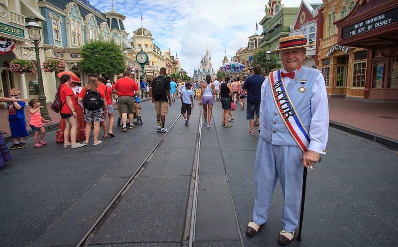 Disney's Human Element - The Mayor of Main Street USA