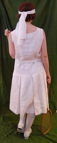 1920s Tennis Dress 4