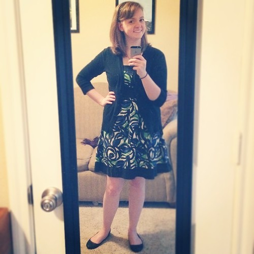 It's a Monday #ootd with my college graduation dress, of all things!