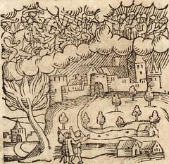 """Image from page 650 of """"Prodigiorvm ac ostentorvm chronicon : quae praeter naturae ordinem, motum, et operationem, et in svperioribus & his inferioribus mundi regionibus, ab exordio mundi usque ad haec nostra tempora, acciderunt ..."""" (1557)"""