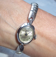 The world 39 s best photos of timex and vintage flickr hive mind for Small size womans watch