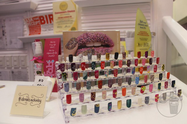 i do nails in tuscany at mckinley hill