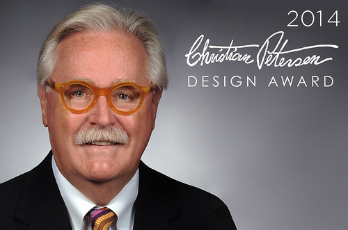 Roger Baer will be recipient of the 2014 Christian Petersen Design Award