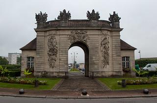 Visite de Vitry le François - Porte du Pont