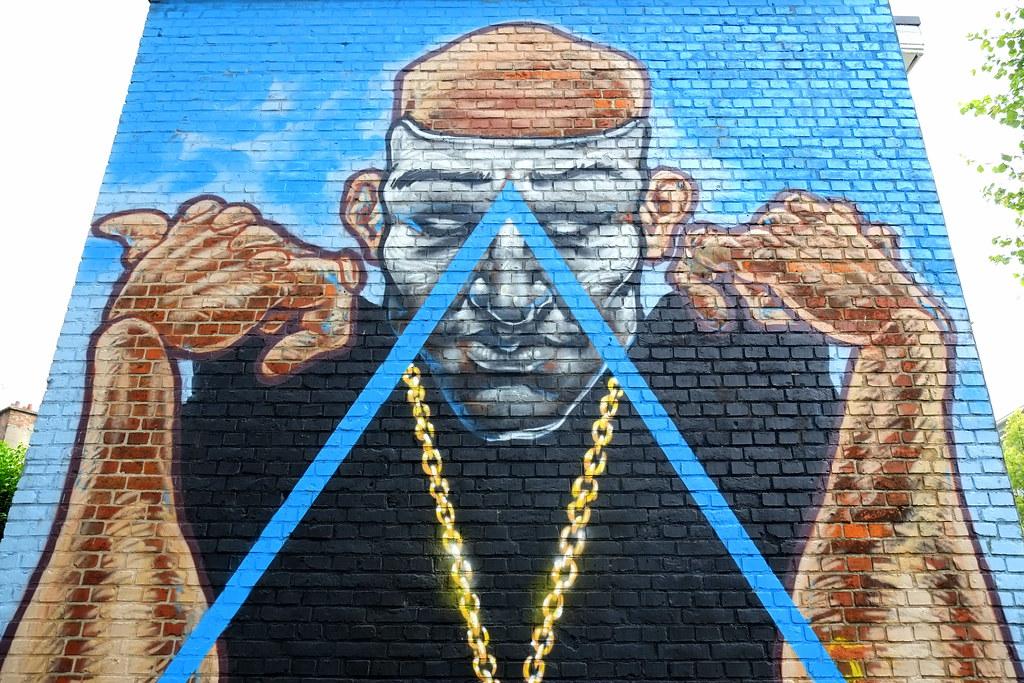 streetart | a squid called sebastian | antwerp-luchtbal. belgium