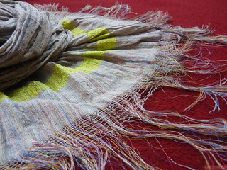 Frayed Scarf Edge