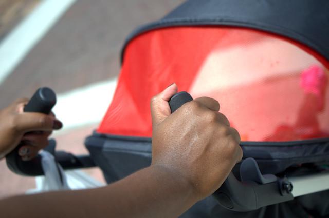GB ZuZu stroller handles