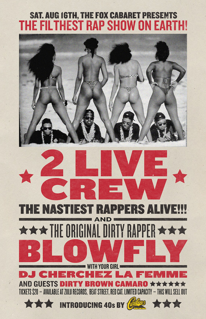 2 Live Crew 40 Ounce Launch
