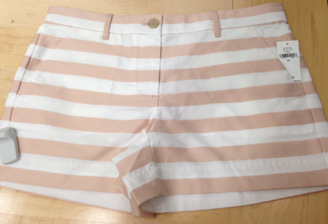 gap stripe shorts