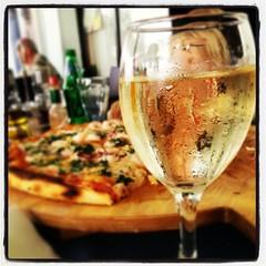 Традиционная #maxi mořská #pizza #Изола #Словения #вкусно