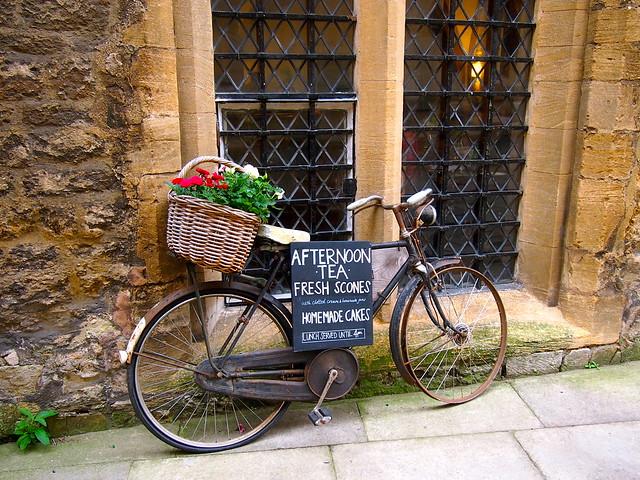 Чай и булочки в Оксфорде loverme