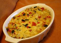 Quinoa Kartoffel Zucchini Auflauf