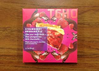 TCHO Strawberry Rhubarb Pie