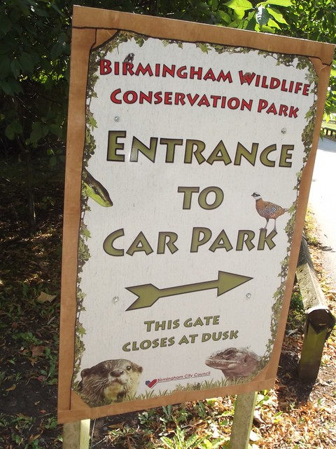 Birmingham Wildlife Conservation Park Car Park