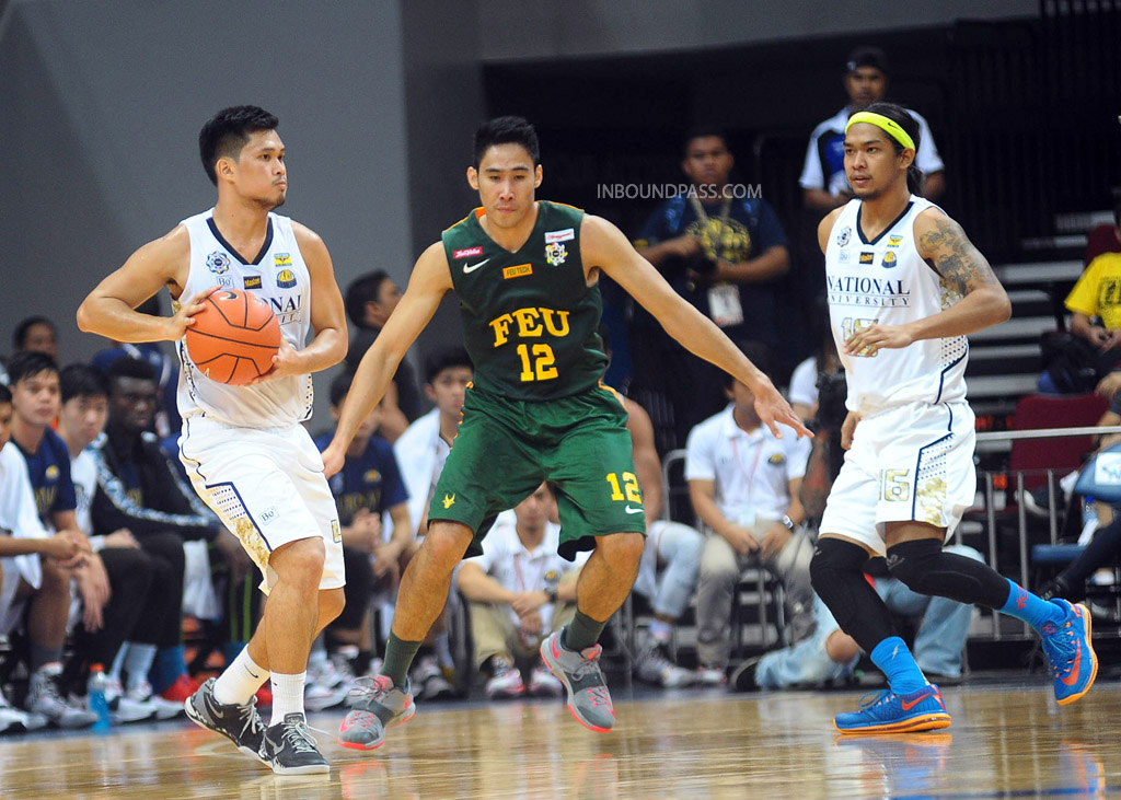 UAAP Season 77: FEU Tamaraws vs. NU Bulldogs, Aug. 9