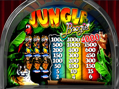 free Jungle Boogie slot payout