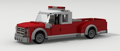 Fire and Rescue Pickup Truck