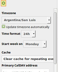 Change Timezone in ownCloud