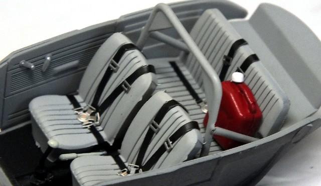 Mattel Hot Wheels VW Herbie (interni)