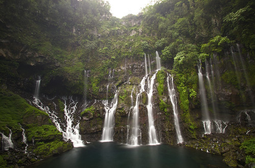 waterfall cascade galet langevin nd1000 réunion