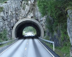 Short tunnel Norway.