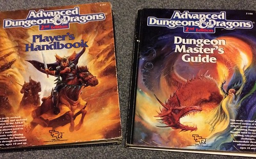#RPGaDay AD&D 2nd Edition