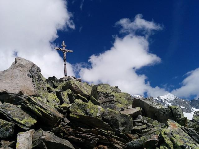 Gipfelkreuz des Kreuzkofel