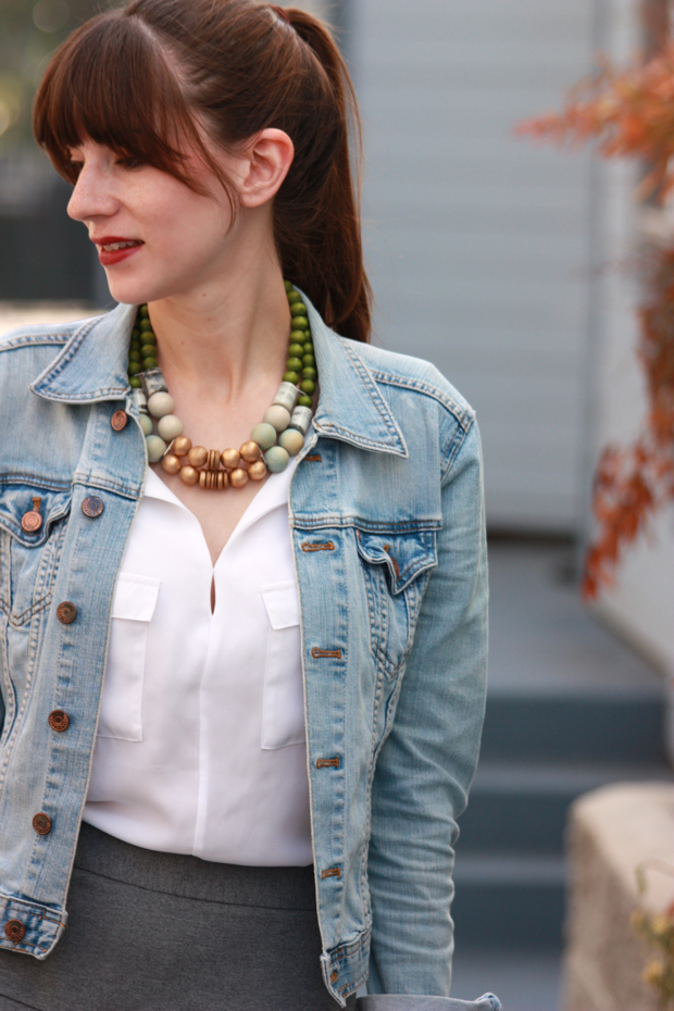 statement necklace, history and industry