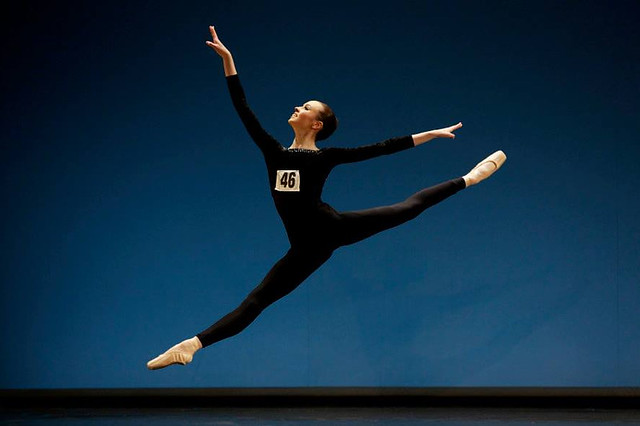 Natasha Watson at the Genée International Ballet Competition, 2013 © Andrew Ross