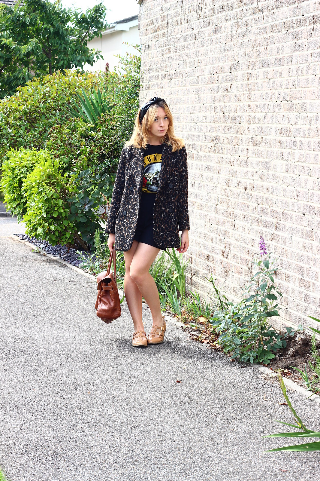 2leopardprintjacket, leopard print jacket h&m, outfit, retro, style