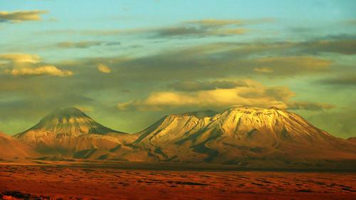 chile paisaje atacama andes montaña