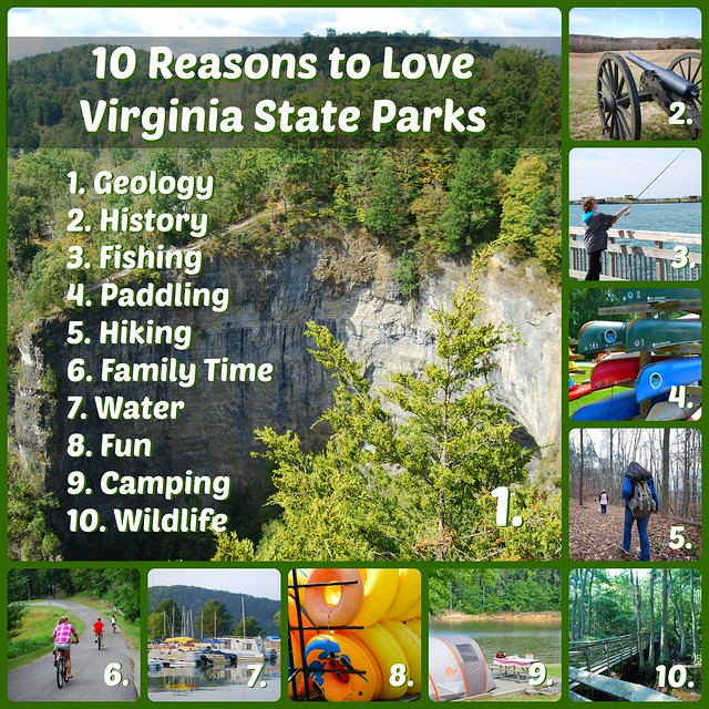 10 reasons to love Virginia State Parks