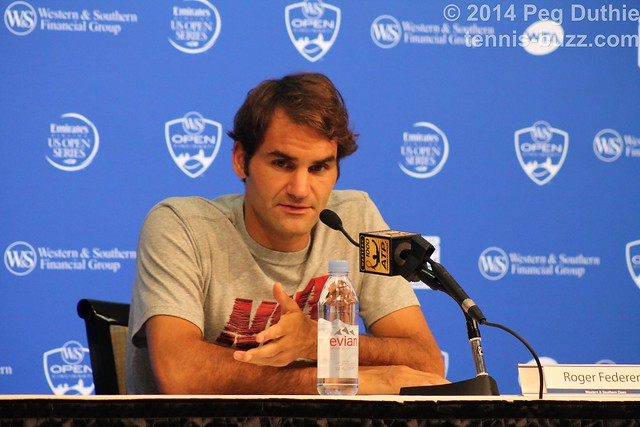 Roger Federer press conference  2014 Western & Southern Open: press conferences pictures 14962376971 81658f1e3e z