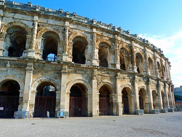 Las Arenas de Nimes (Francia)