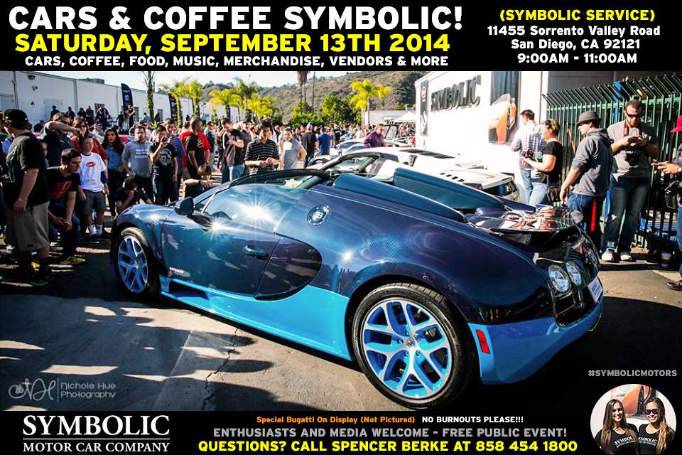 Cars Coffee San Diego
