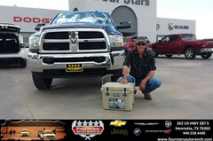 Congratulations to Joe Ikeler on your new car  purchase from Tracey Frerich at Four Stars Auto Ranch! #NewCar